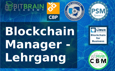 Blockchain Manager - Course with online and / or face-to-face (8 modules, 5 certificates) May 3, 2021